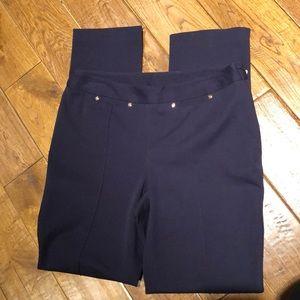 Rafaella Navy Pant size 10